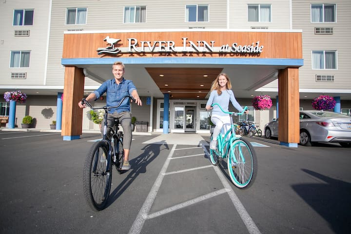 Complimentary bikes to borrow during your stay