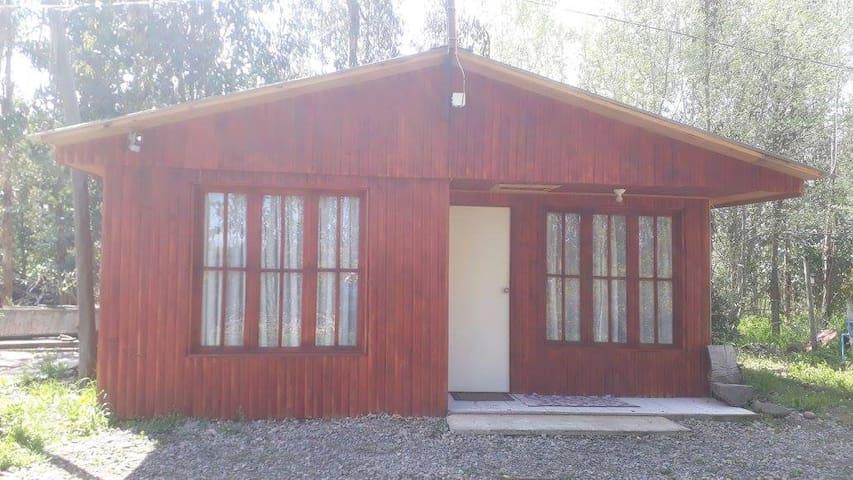 Cabaña 3 La Casa del Gallo (Maule, Yerbas Buenas)