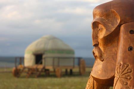 Башкирские юрты на Урале - Нугуш