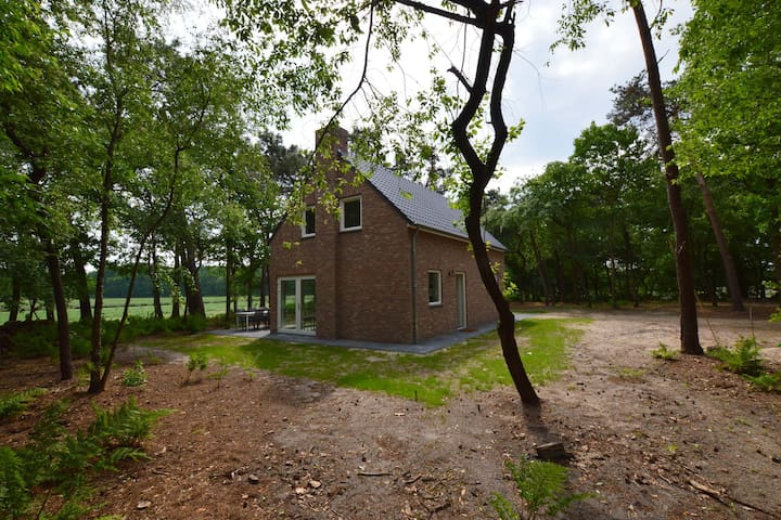 Beautiful house with 2 bathrooms completely free on private plot of 7000 m2