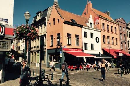 Belle Mansarde au cœur de Bruxelles - Bruxelles - Apartament