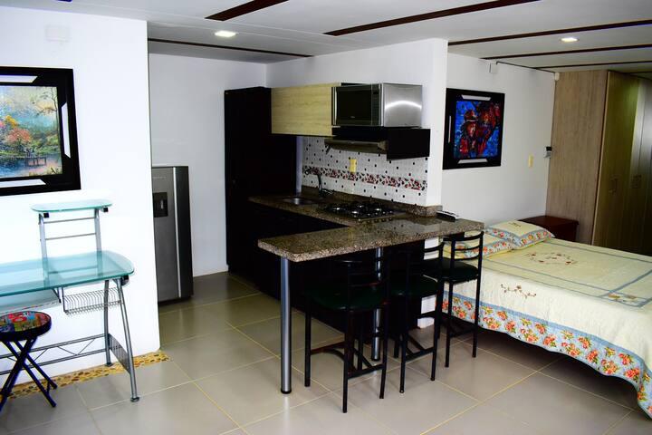 Apartamento campestre, tranquilidad y relajación