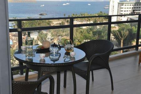 (二)迷人的大东海,度假娱乐休闲,山海天度假公寓,您最佳的选择。。。 - Sanya - Íbúð