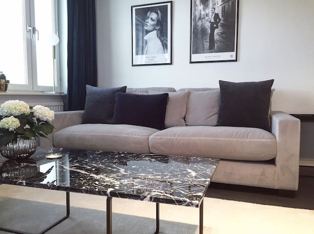 Modern apartment 15 min from Stockholm City