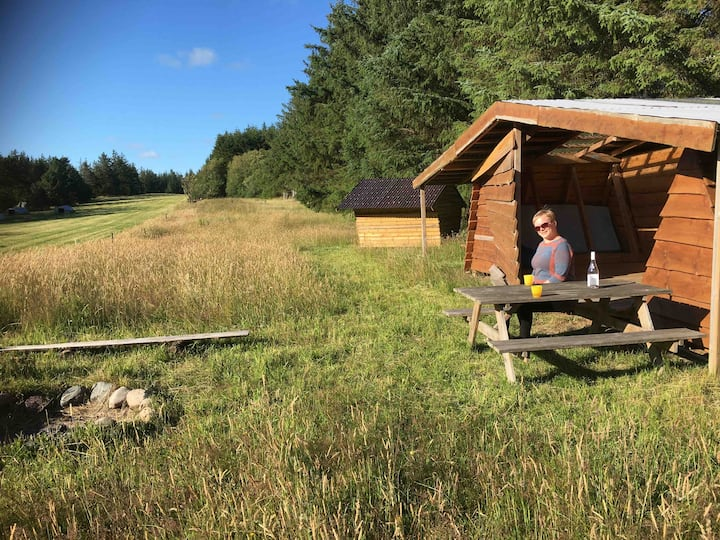 Shelter med direkte adgang til Nationalpark Thy