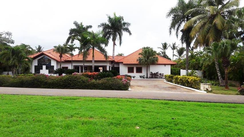Casa de campo - Villa Los Mangos - La Altagracia Province - Vila