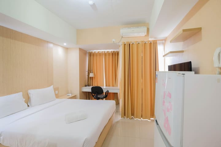Clean Studio Apartment @ Grand Dhika City