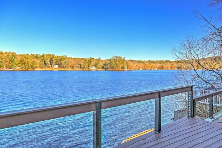 Lakefront 2BR New Marlborough Cottage w/Deck! - New Marlborough
