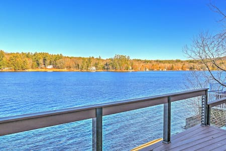 Lakefront 2BR New Marlborough Cottage w/Deck! - New Marlborough