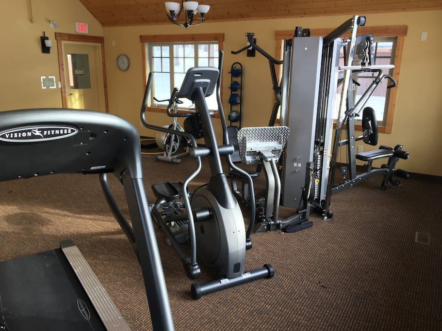 Fitness Gym for Owners and Guests
