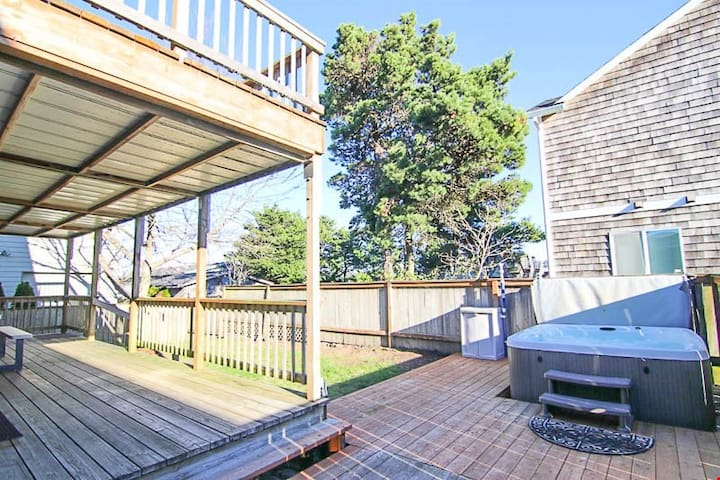 Slack Tide-1711 - Immaculate Home Close to Beach and Estuary. Has Hot Tub and More!