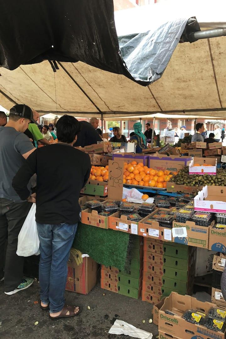 100 year old farmer's market