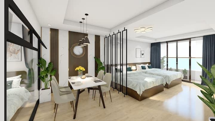Căn hộ View biển 3 giường - OH Apartment