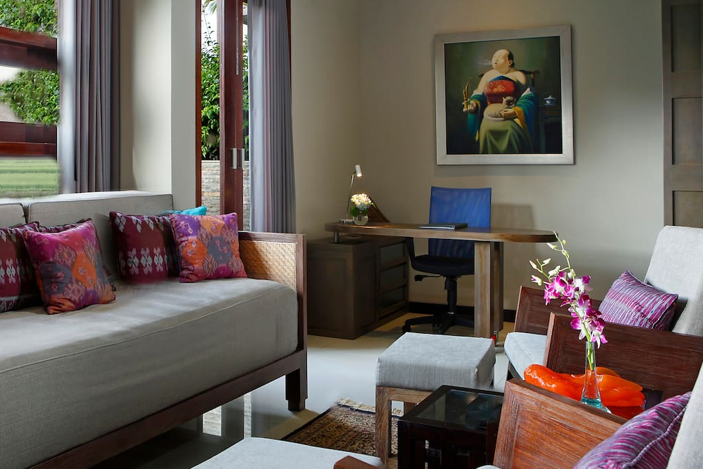 Padi Sky Loft Suite, Lounge & Computer Desk, Ground Floor