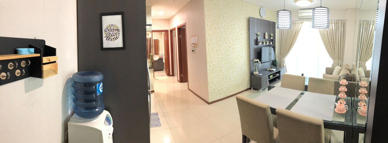 A Cozy 2BR Apartment in Thamrin Res, Central Jkt