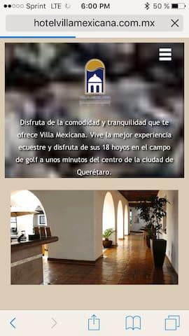 Hotel Villa Mexicana Golf & Ecuestr