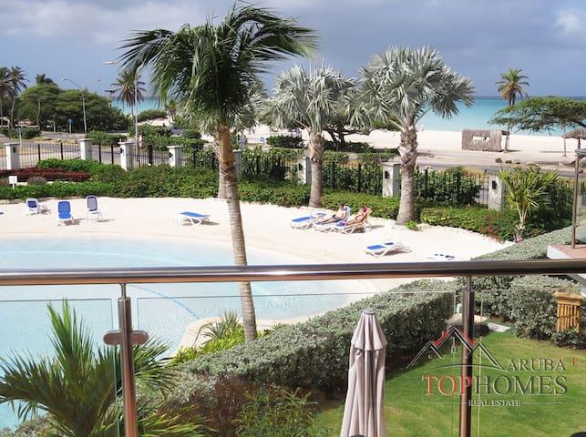 Eagle Beachfront! Oceania Condo 2Br - Oranjestad-West - Condominio