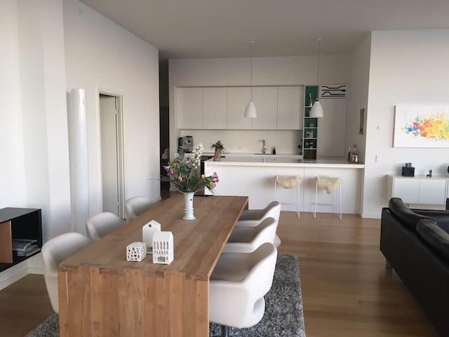 Luxury apartment at the waterfront in Aarhus C - Aarhus - Apartament