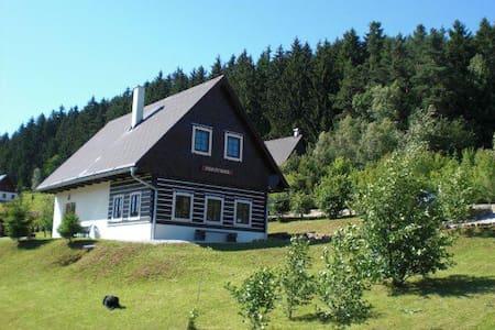 Roubenka ( cottage ) Panorama, Vidochov-Stupná - Vidochov - กระท่อมบนภูเขา