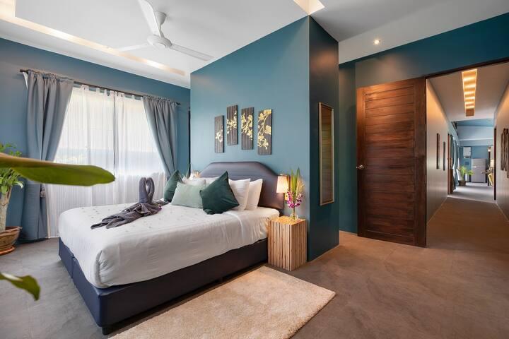 Villa Baan Kluay Mai. Master bedroom