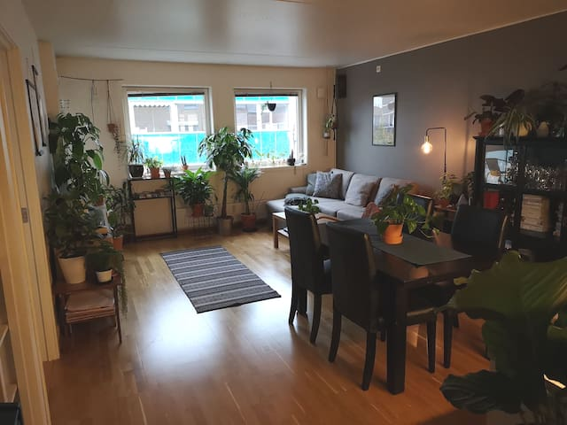 Apartment 10min (with train) from Oslo centrum