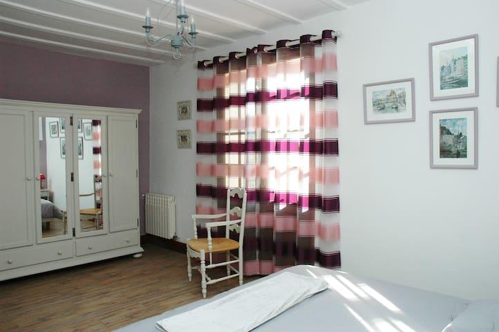 Confortable Gîte 100 m², 6 pers. maxi - Lucmau - Byt