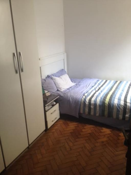 quiet comfortable room with double bed