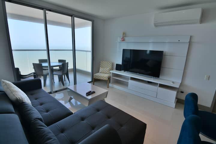Apartamento Entero Frente al Mar PB3202