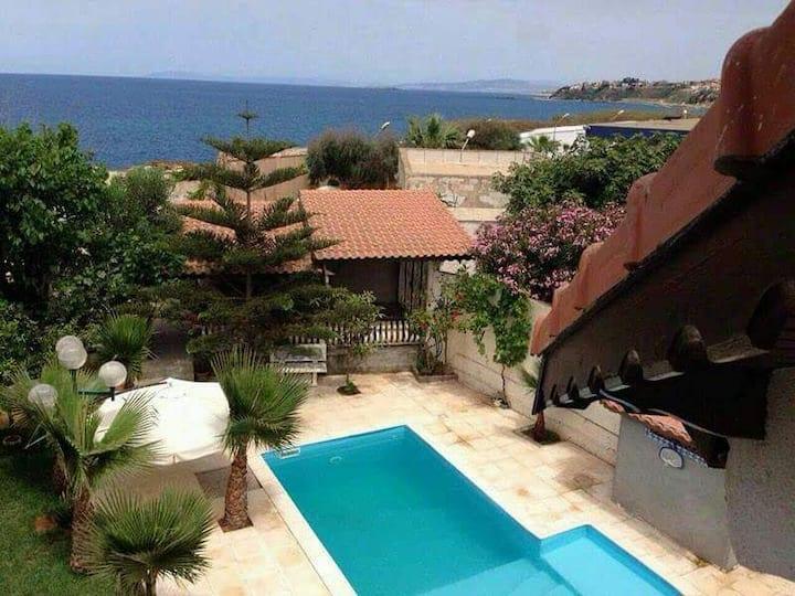 Maison de détente avec piscine privée