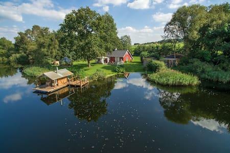 Private lake & Floating sauna