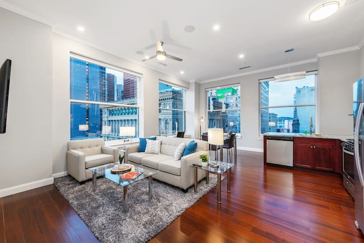 Stellar 2BR|Gym|Heart of Downtown Pitts by GLS