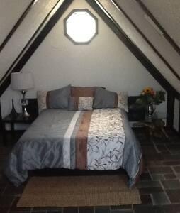 Large attic room in quiet private home