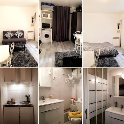 Studio cozy / Tout confort - Paris 12 ème