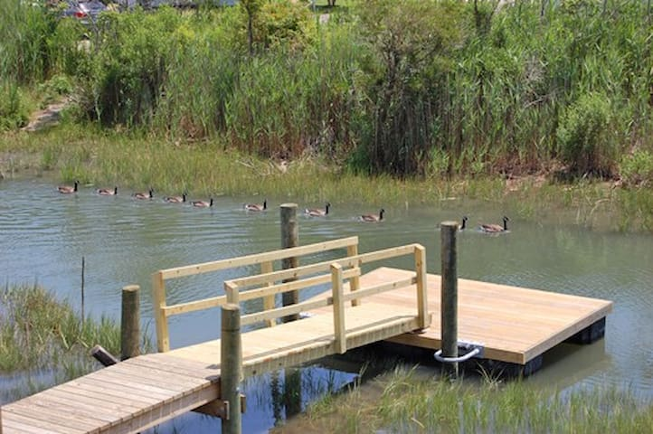 Shallow Water Crabbing Dock