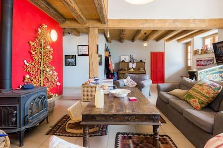 Modern room in charming farm - Cernex - Ház
