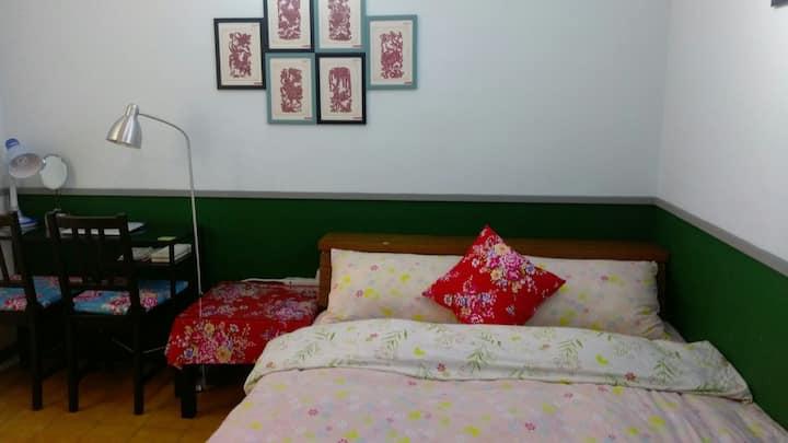 西門町Ximending~復古雙人房@Monica's house