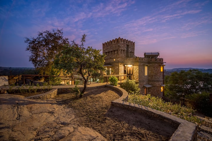 Parampara: Royal Castle  Private forest and Lake