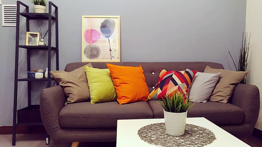 1 living room 1 bedroom big space (WAT36 )