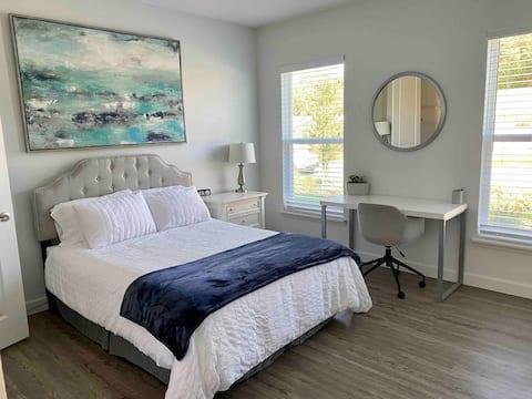 Moderna suite de 1 dormitorio con entrada independiente