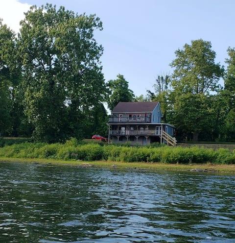 Susquehanna River Front casa de luxo