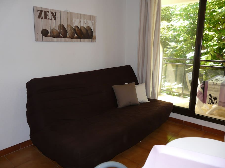Sofa-bed for two persons