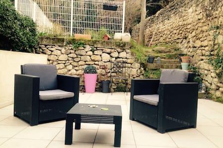 Maison de ville avec jardin au calme - Istres - ทาวน์เฮาส์