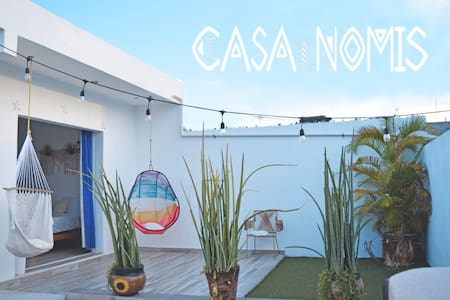 Tropical Room in Cancun City-CASA NOMIS