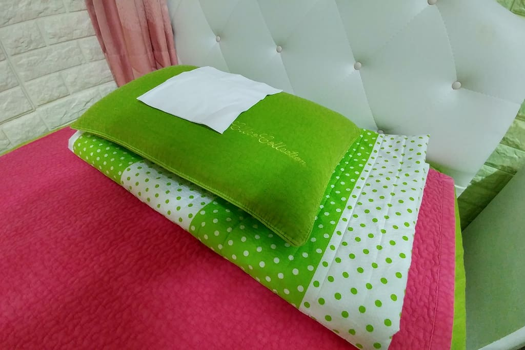 one time pillow cover with pillow