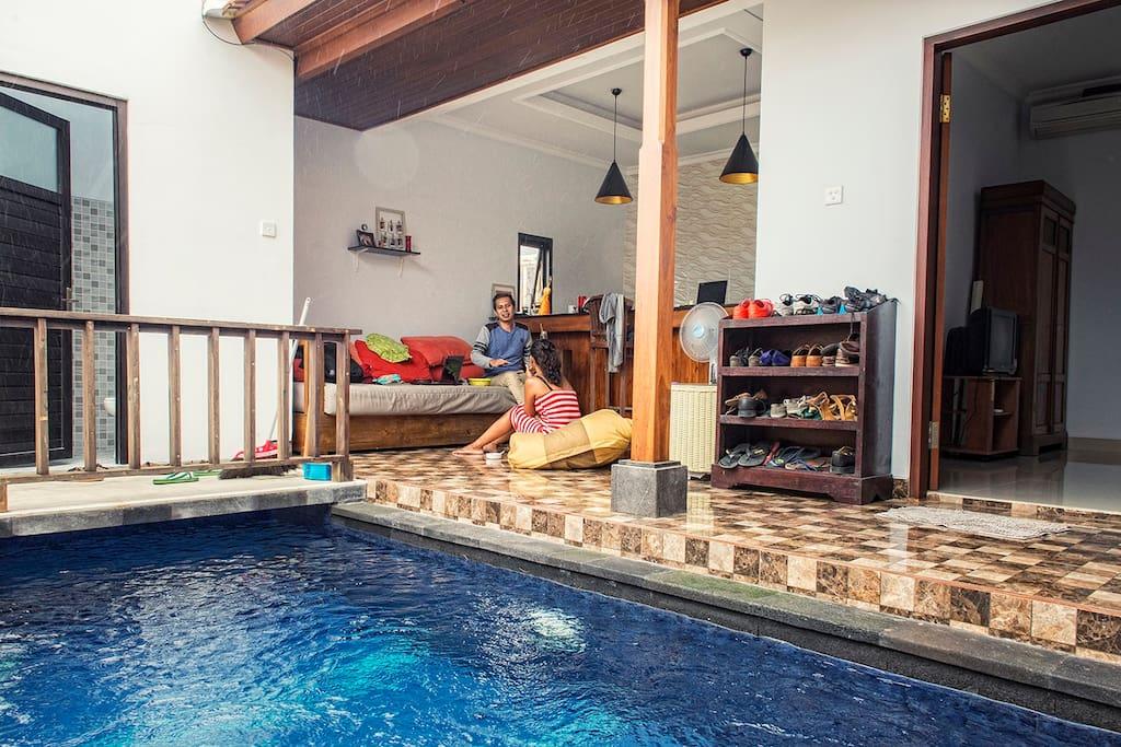Pool / Living Area