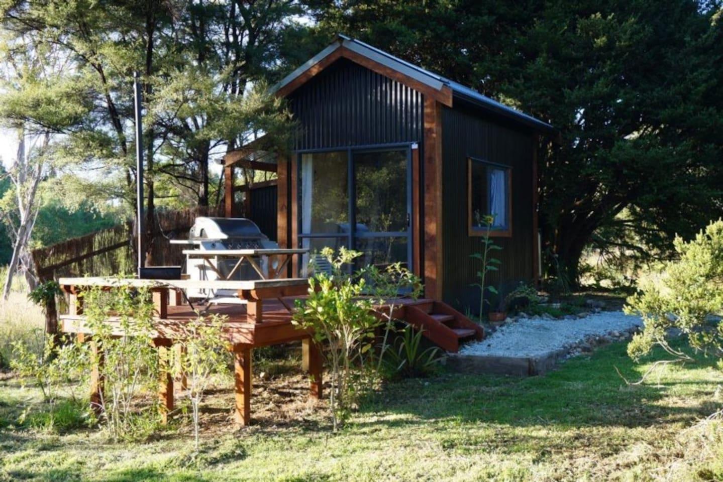 Totara tree cabin