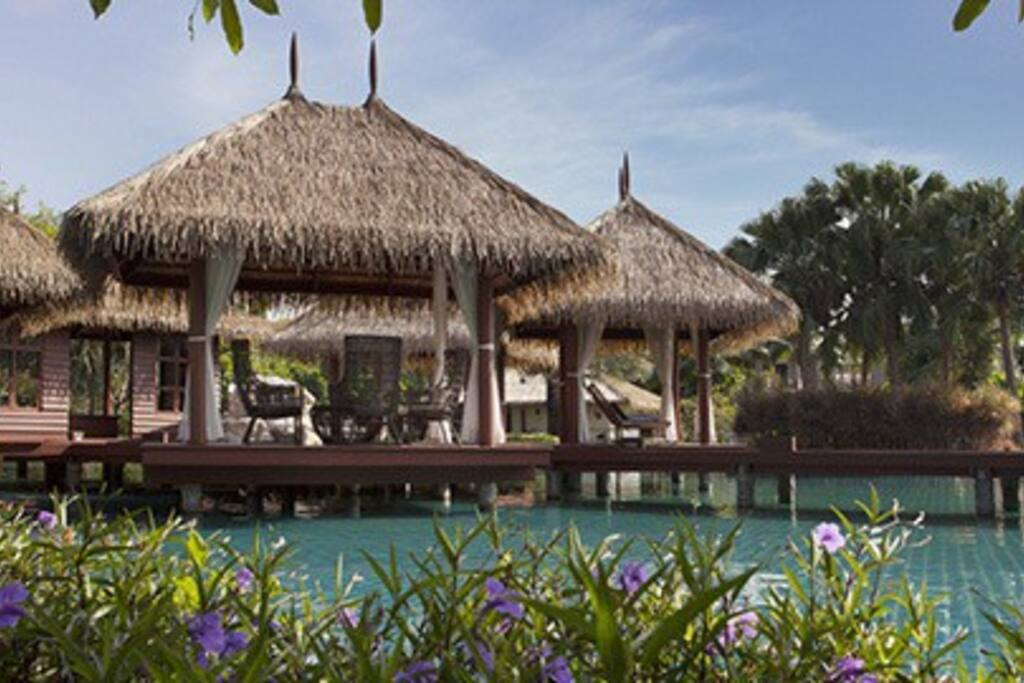 Maldives Style Clubhouse with swimming pool and fitness.