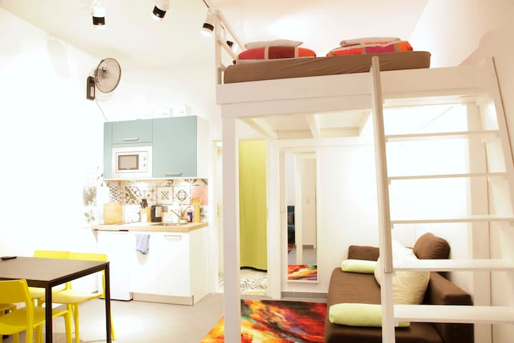 Cosy Apartment near relaxing GREEN & CAFES