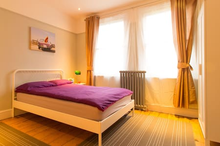 Double Room with Garden View - Shared Bathroom - Maidenhead - Talo