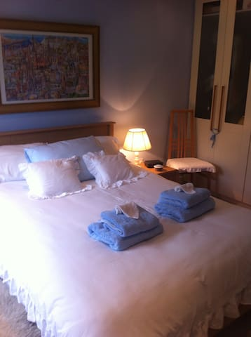 Double room…Malahide (Near Dublin Airport) - 馬拉海德(Malahide) - 公寓